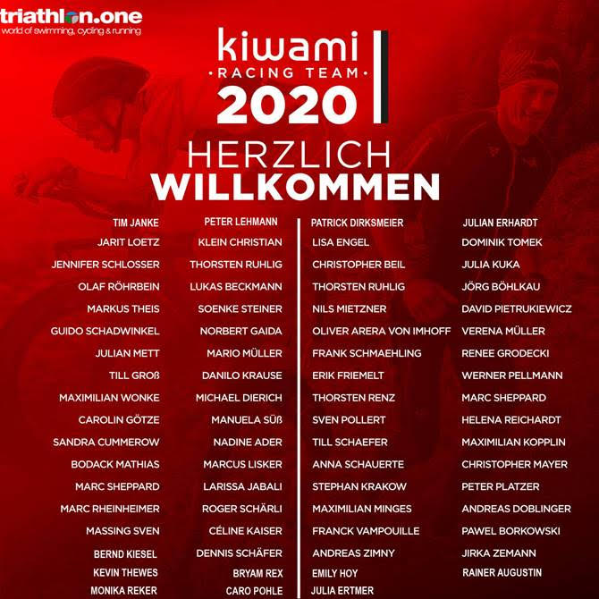Das Kiwami Racing Team 2020