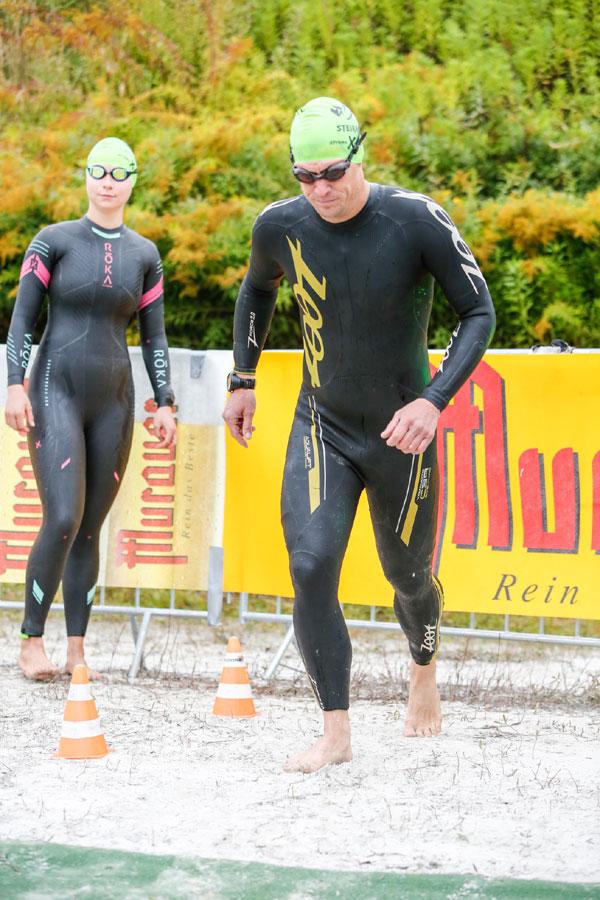Styrian Xtreme Triathlon - Rolling swim start - photo by event-gucker.at