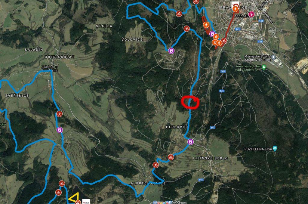 XTerra Czech - platt allein im Wald